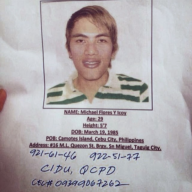 Trending Photo: Photo of Cherry Pie Picache's mother's murder suspect