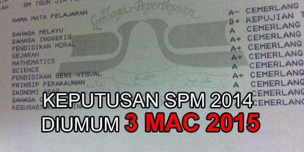 keputusan spm - Keputusan SPM anda TIDAK PENTING. Faham ke?