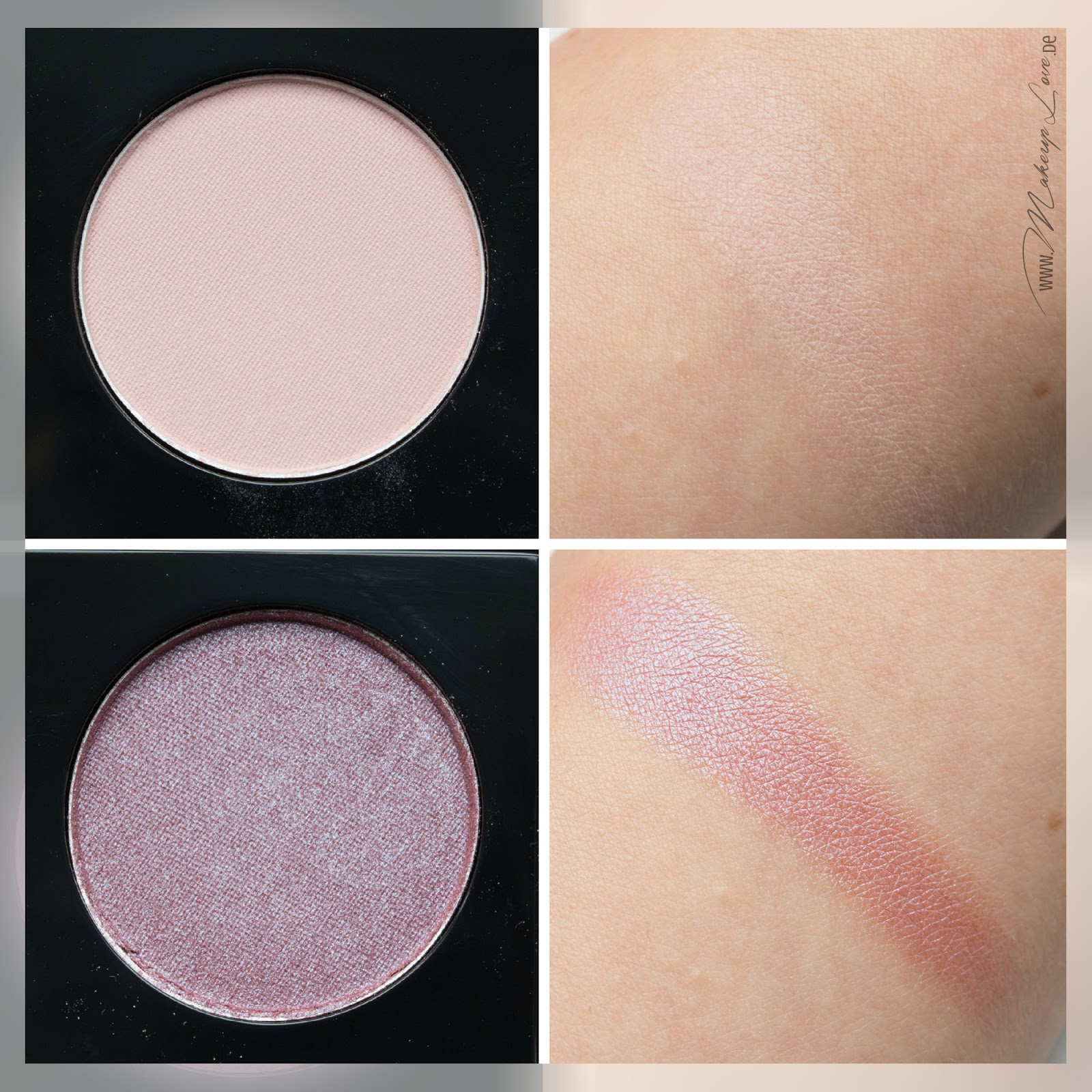 MAC A passionate Quest Quad the wrong man serenade swatch