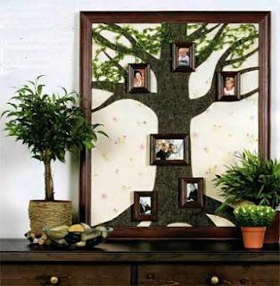 Сделать своими руками семейное дерево
