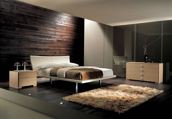 Habitaciones con colores oscuros dormitorios con estilo for Modern day bedroom designs