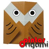 Cara Membuat Origami Burung Hantu