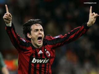 Filippo Inzaghi AC Milan Wallpaper 2011 3