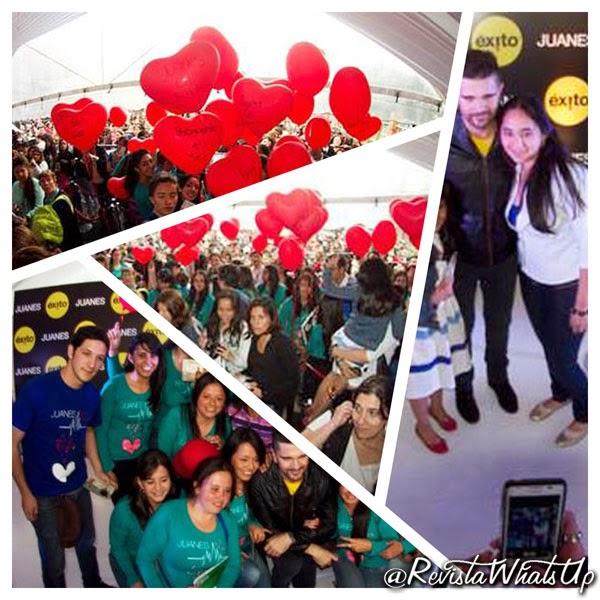 JUANES-FIRMA-HORAS-DISCOS- FANS-2014