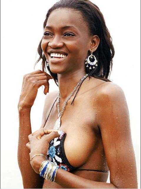 oluchi onweagba topless