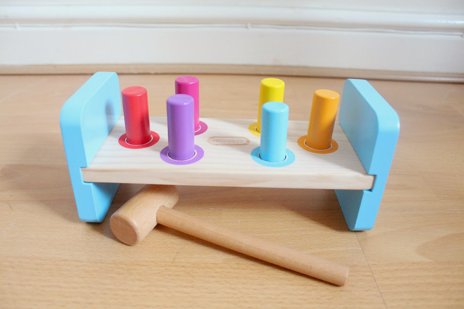 Little Tikes Wooden Hammer Bench Purchase Today Ebay