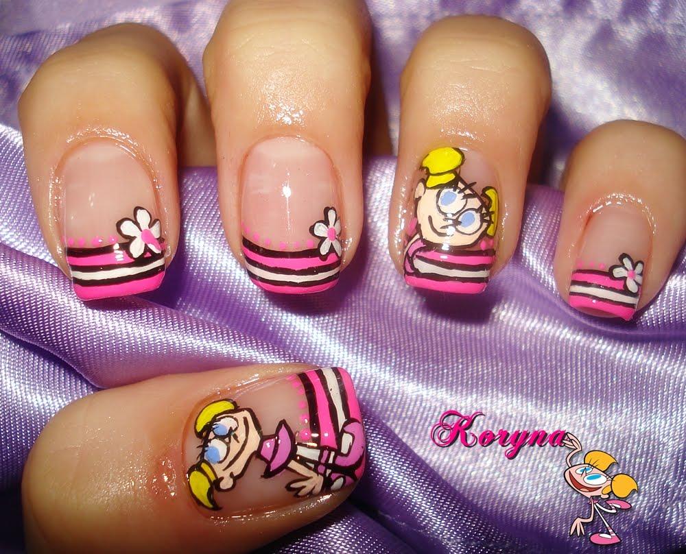 My Nails: Cartoon nails-deedee-