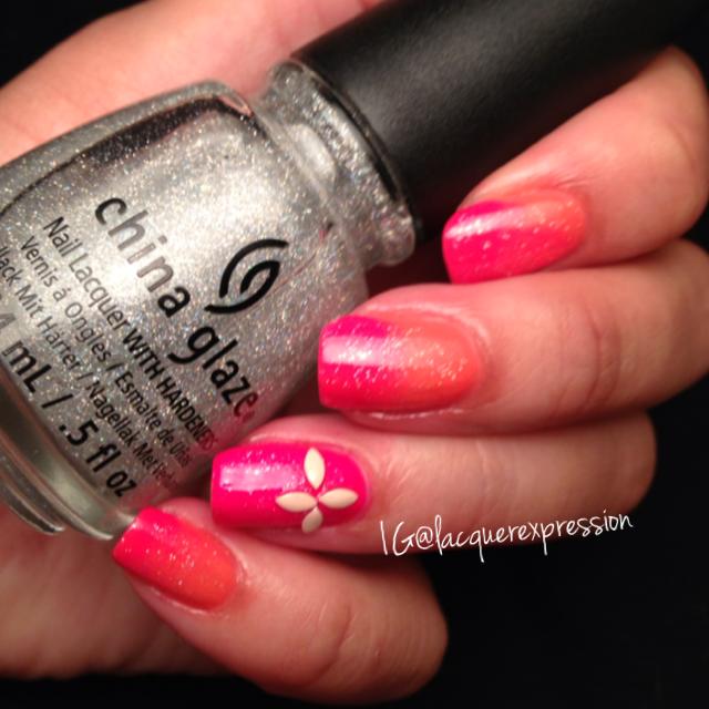 china glaze fairy dust nail polish