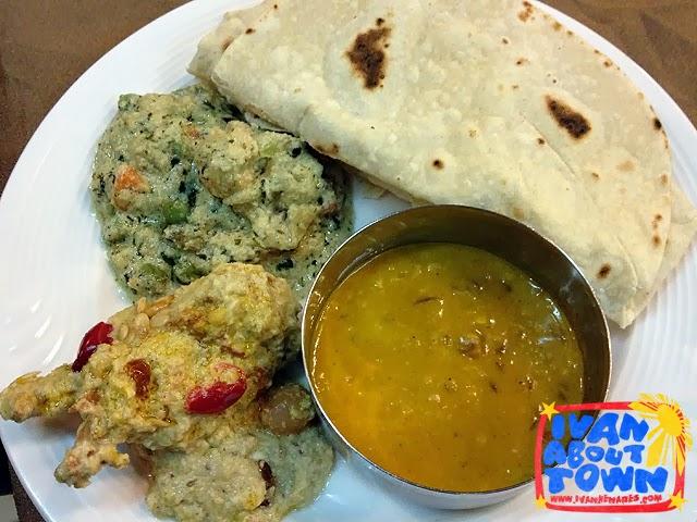 Kashmiri food in Gulmarg, Kashmir, India