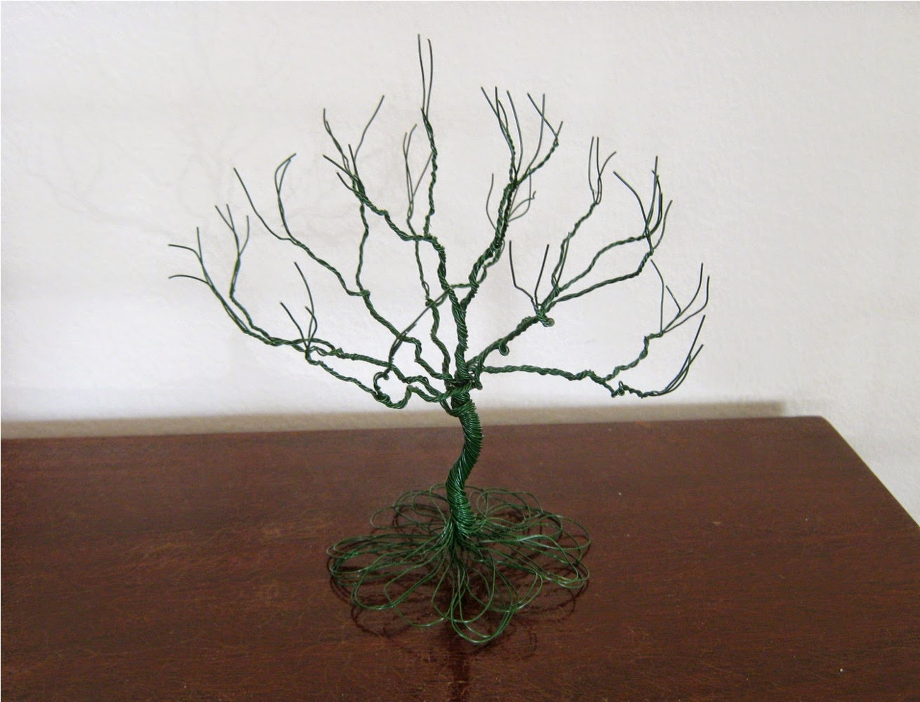 How to make the wire tree