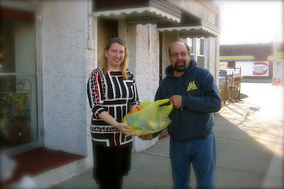 ALK Electric South Plainfield NJ donates turkey to Community FoodBank of New Jersey. Heidi's Cottage