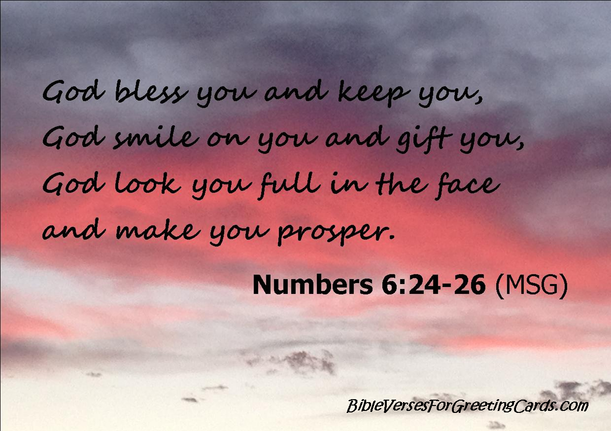 Bible verses for greeting cards my favourite bible verse for a my favourite bible verse for a greeting card numbers 6242 26 m4hsunfo