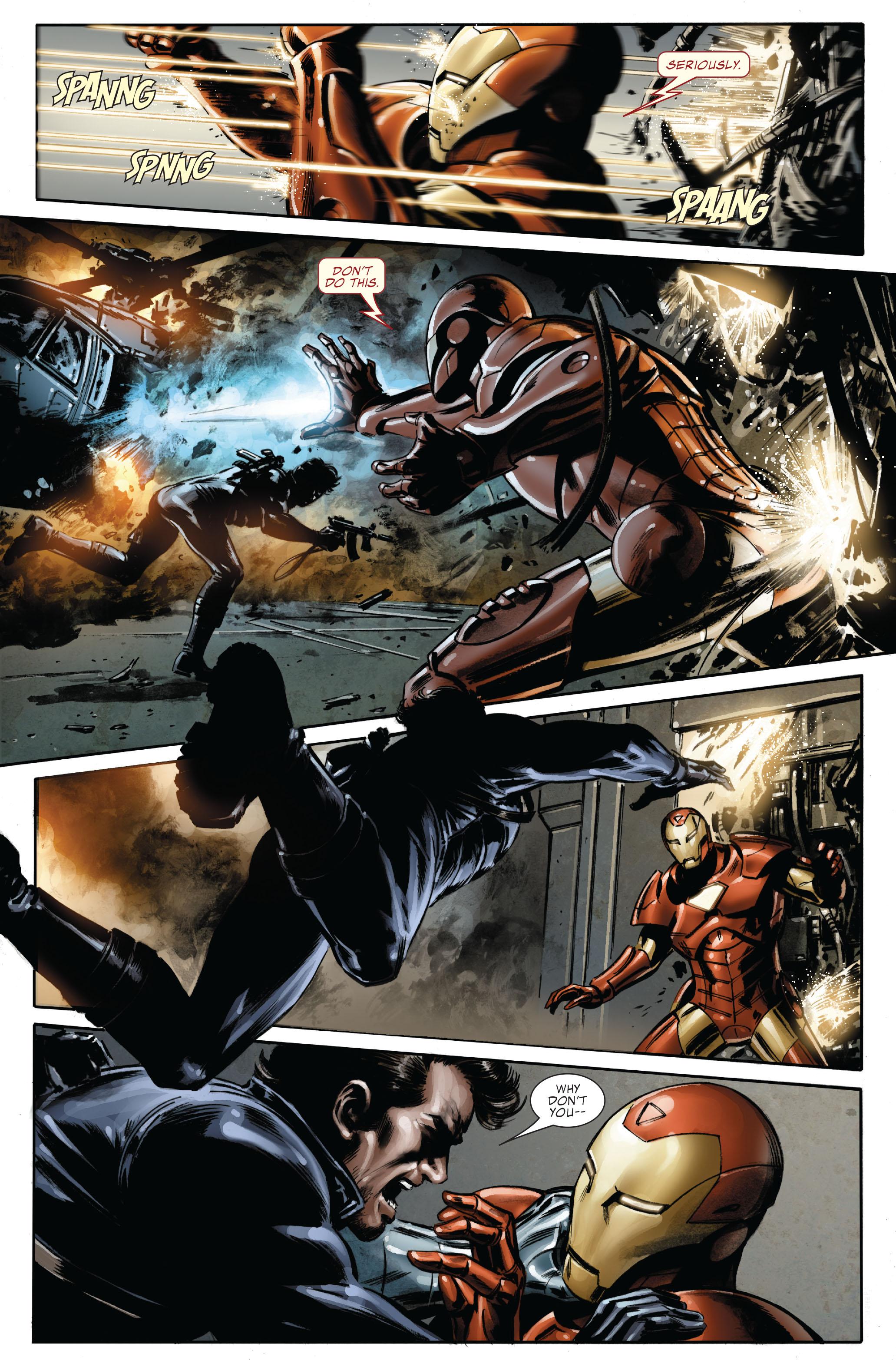 Captain America (2005) Issue #33 #33 - English 14