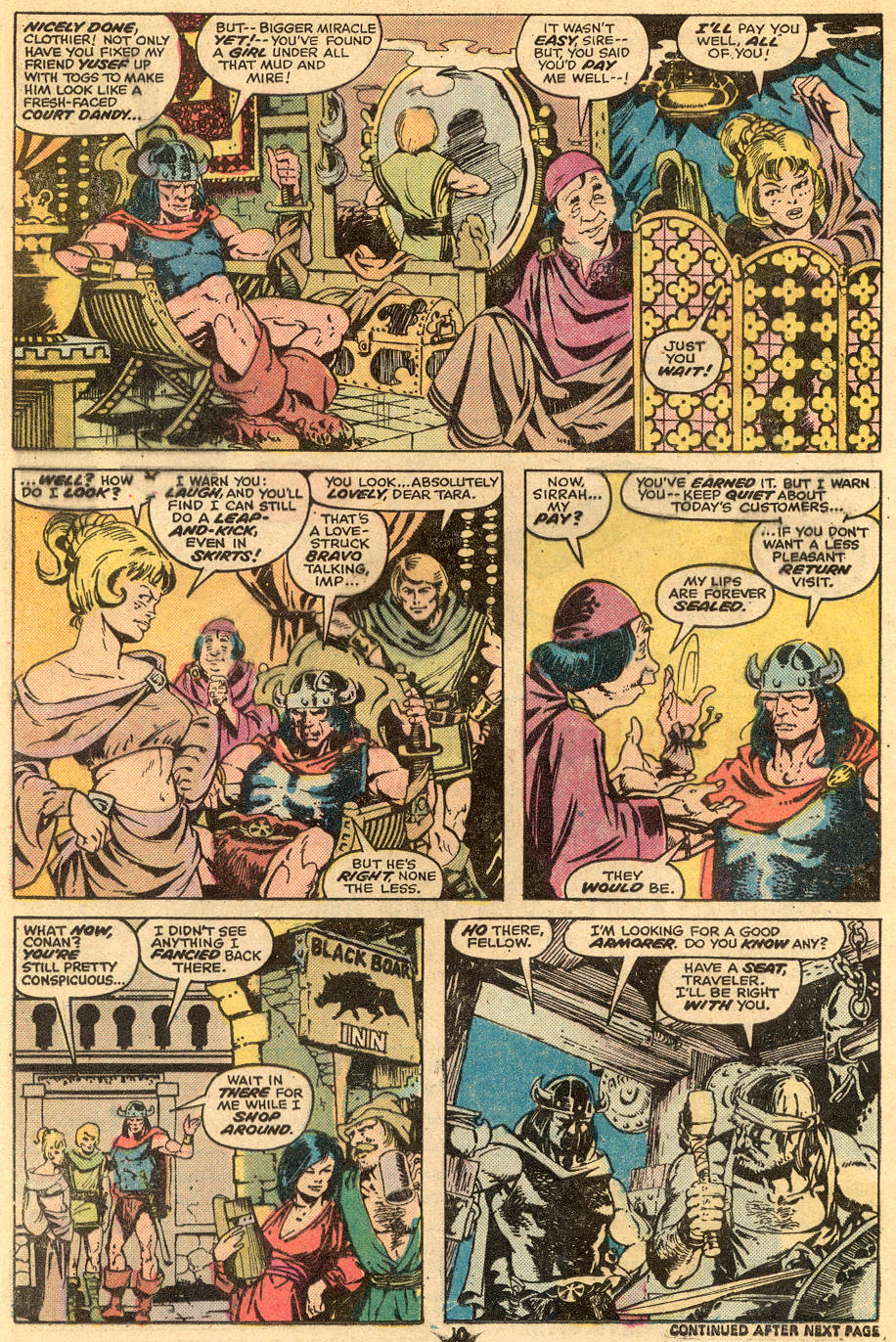 Conan the Barbarian (1970) Issue #57 #69 - English 7