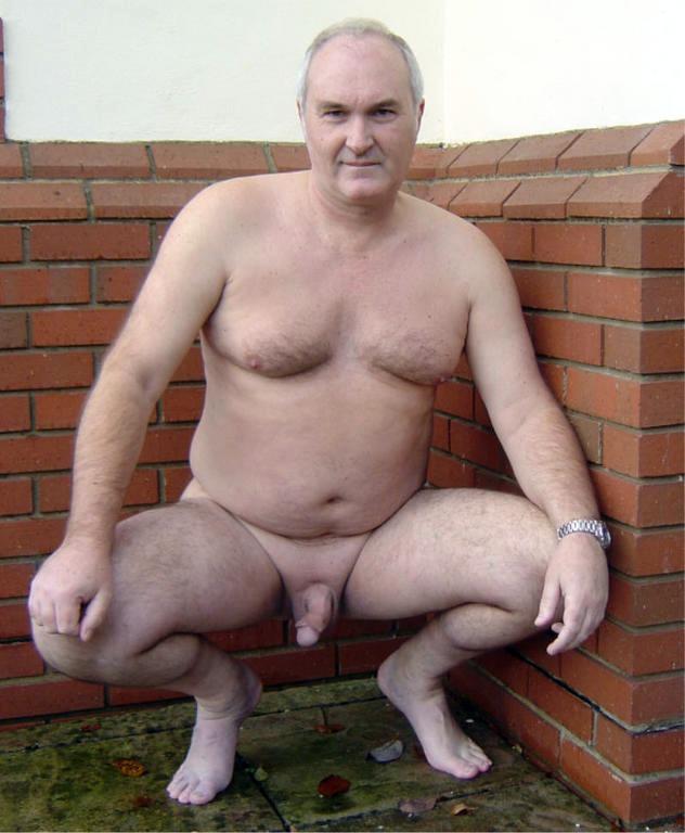 Naked Silver Daddies