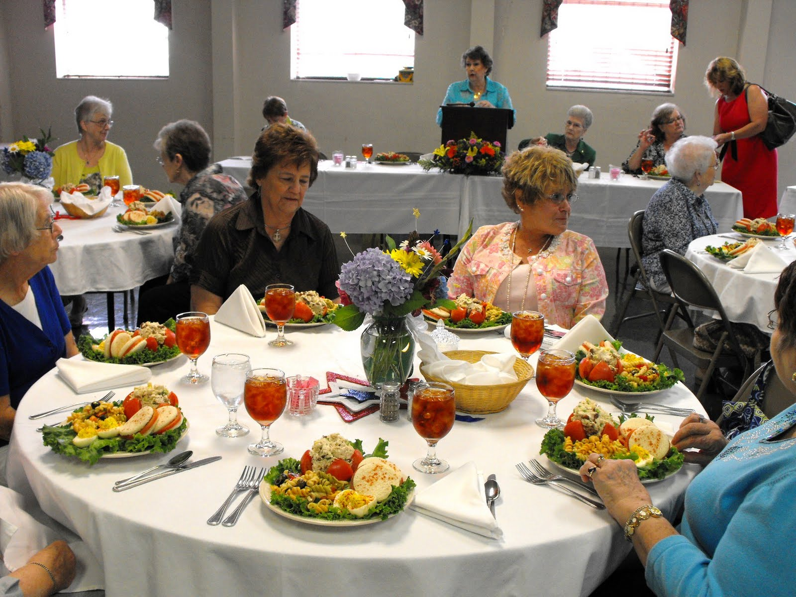 great meal was enjoyed by all the attendees.