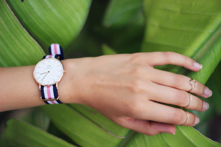 daniel wellington watch fashion blogger