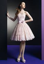 Short Lace Cocktail Dress