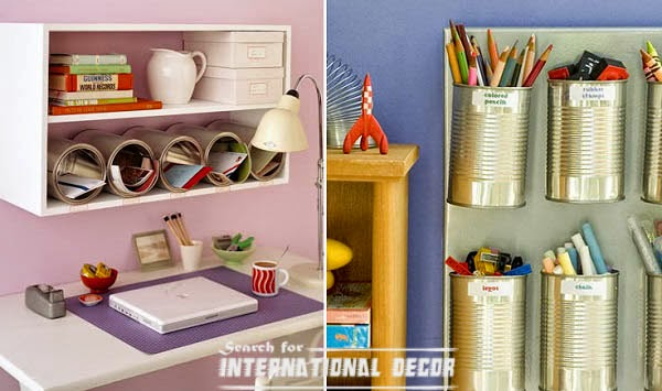 High Quality Creative Recycle Ideas, Recycle Ideas, Recycle Cans,workspace Decor