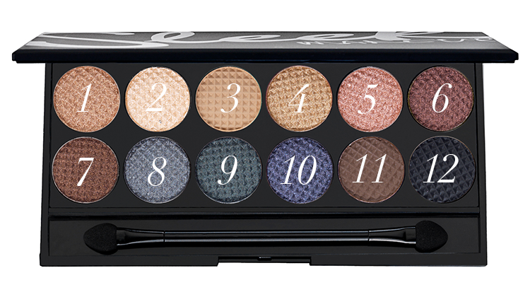 Sleek Makeup i-Divine Eyeshadow Palette in Storm review