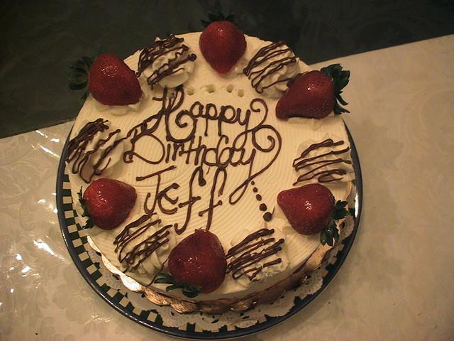 Birthday Party Happy Birthday Jeff