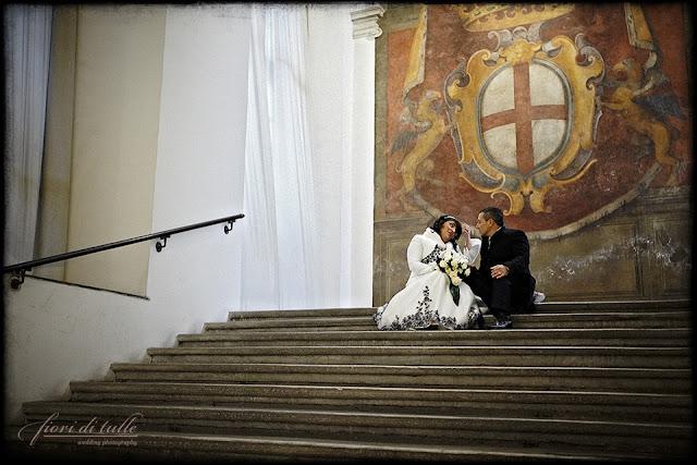 foto matrimonio Palazzo Ducale Genova