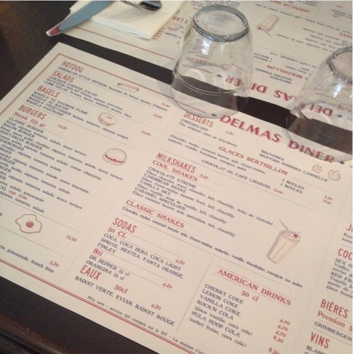 Delmas diner restaurant 5e la nantaise paris - Restaurant carte sur table cavaillon ...
