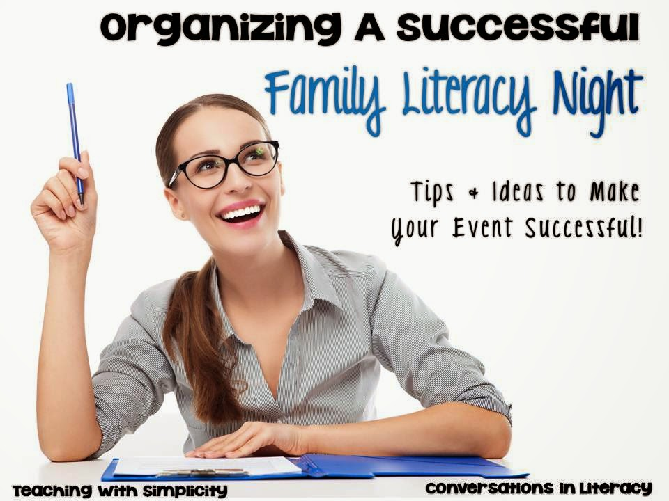 Tips and Ideas to Organize a Successful Family Literacy Night