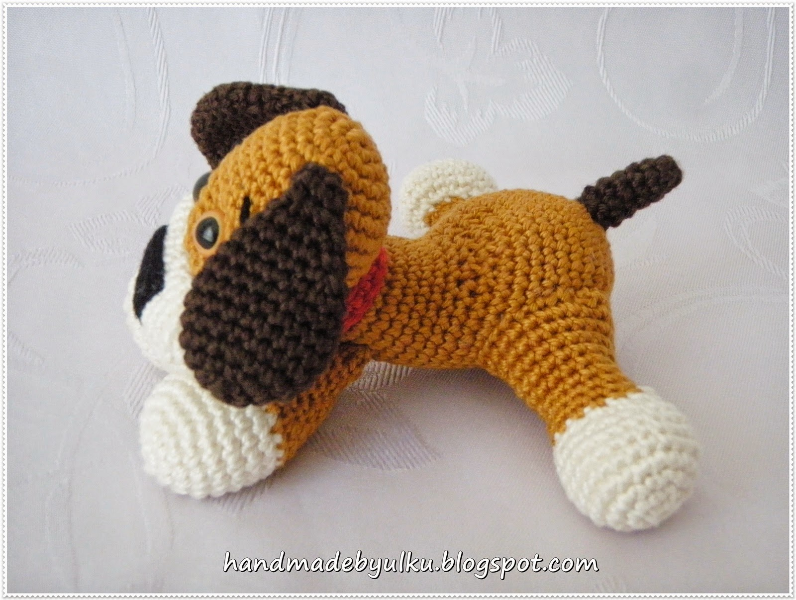 handmade by lk amigurumi s er hund dog. Black Bedroom Furniture Sets. Home Design Ideas
