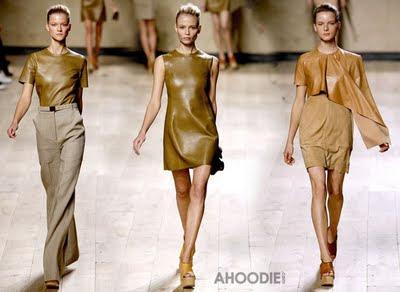 Women Leather T-shirt