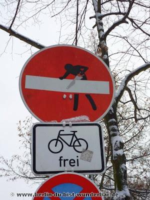 streetart, clet, berlin, kunst, graffiti