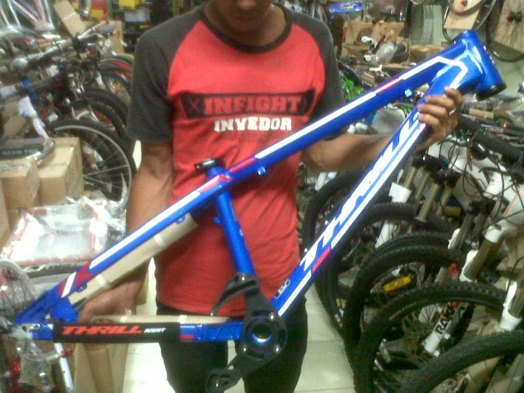 frame thrill agent 4x 2014 blue