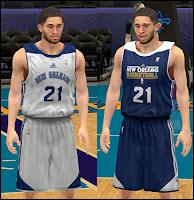 NBA 2K13 New Orleans Pelicans Practice Jersey Mod
