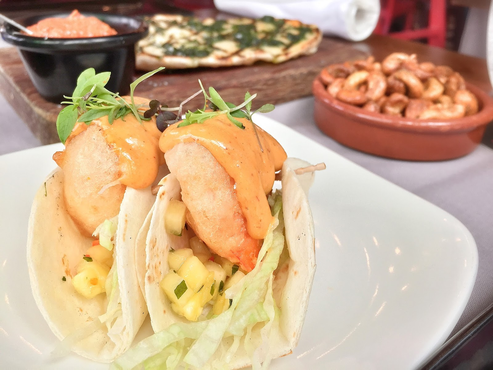 Salt Tapas and Bar - Prawn Taco