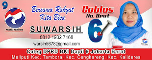 CALEG PERINDO DAPIL 9 JAKARTA NO.6