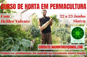 Curso de horta em permacultura
