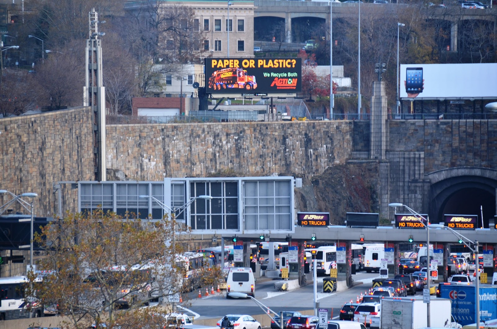Lincoln tunnel for Holland tunnel motor lodge
