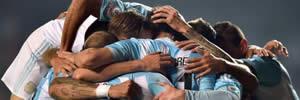 Argentina 6 x 1 Paraguai – Veja os gols do massacre