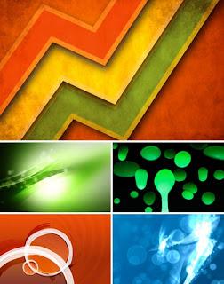 Буйство цвета без формы для рабочего стола
