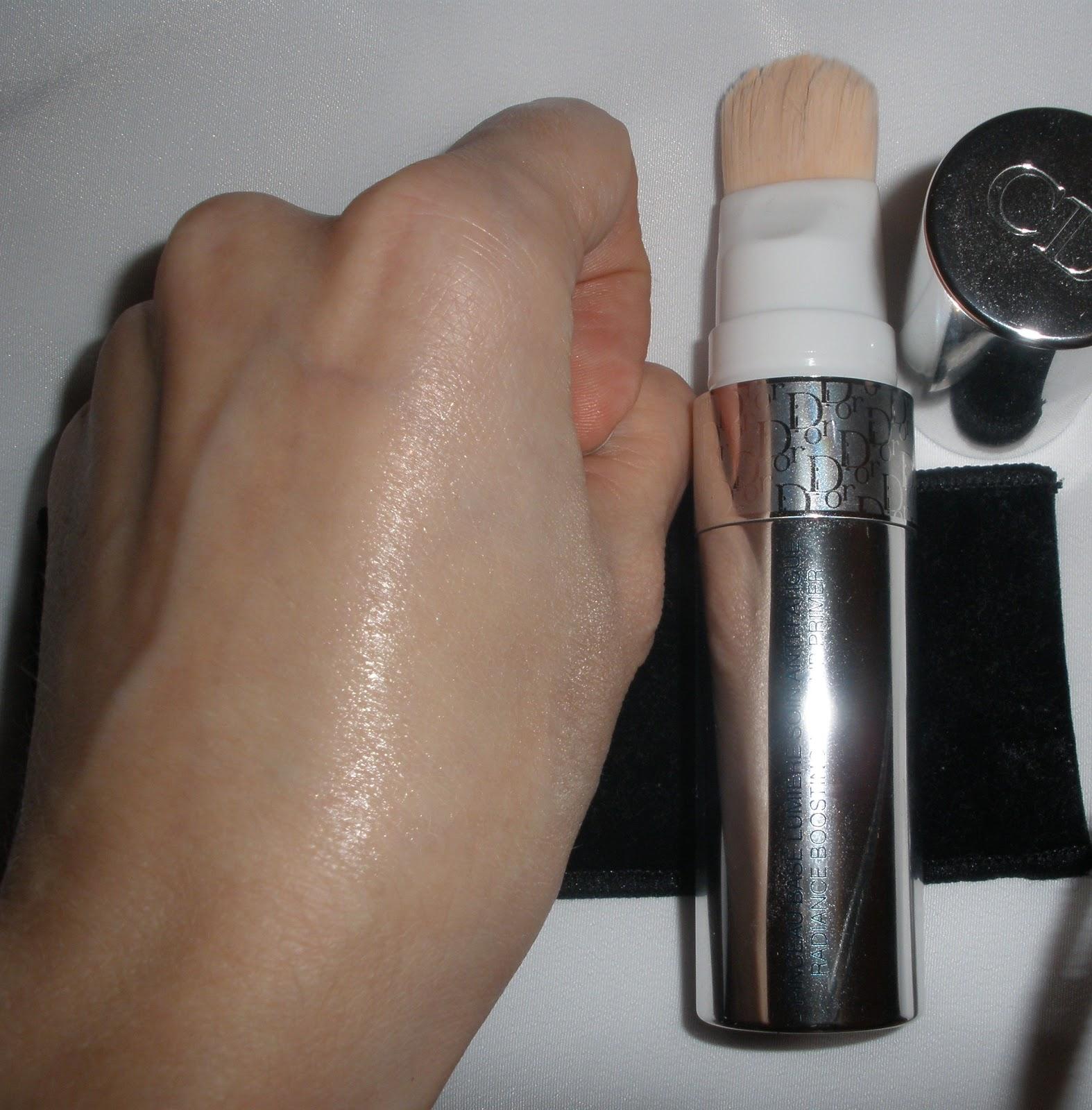 Как наносить базу под макияж диор