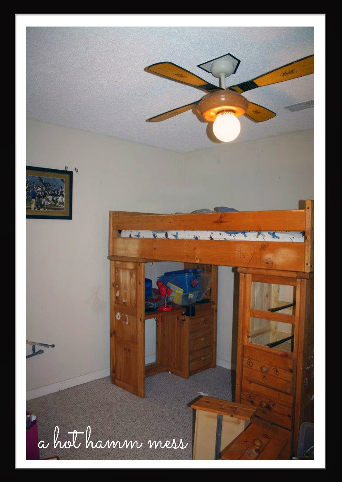 A Hot Hamm Mess Hamm Decor Kyler 39 S Bedroom The