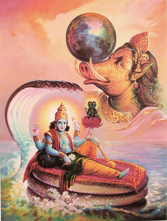 Sri Ranganathar's 'Koorma Avatharam'