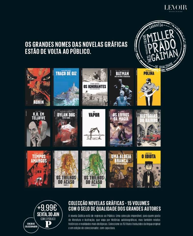 Novela Gráfica - Público/Levoir
