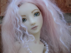 OOAK fantasy porcelain ball jointed doll