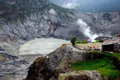 wisata lembang gunung tangkuban perahu