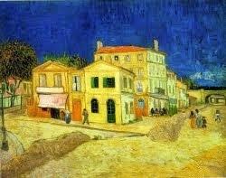 A Casa amarela (casa de Van Gogh) - 1888