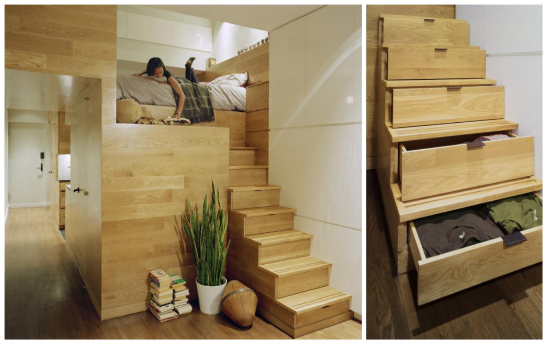 Mini apartamento ganando espacio for Cuarto de 10 metros cuadrados
