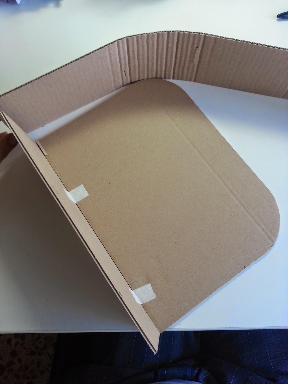 DIY como hacer una maleta. paso a paso. scrap. scrapbooking. carton. decoración. escaparatismo