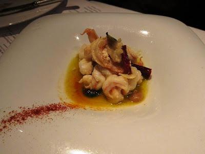 Sauteed Shrimp at The Bazaar