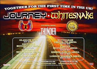 Journey, 'Whitesnake and Thunder